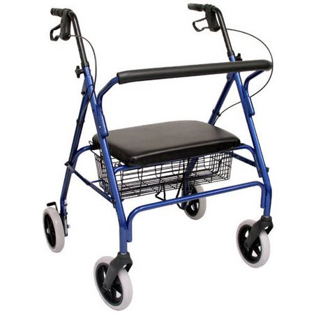 Karman R-4700 Heavy Duty Bariatric Rollator with 8