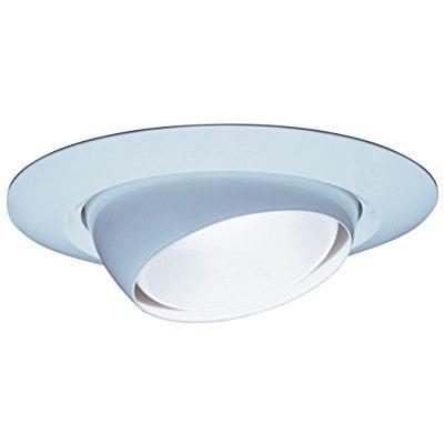 Lithonia Lighting 7E1 TOR R6 6-Inch Standard Eyeball Full Reflector Recessed Light Trim, (Eyeball Reflector Trim)