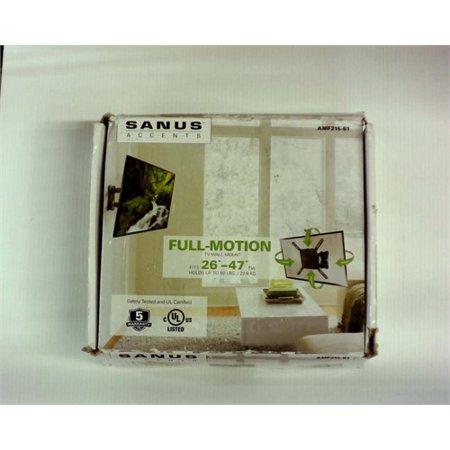 B1 Full Motion Mount - Refurbished Sanus Accents AMF215-B1 26 to 47-inch Medium Full Motion TV Wall Mount