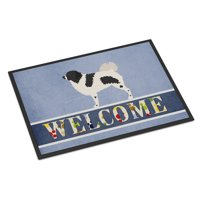 Wetterhoun Frisian Water Dog Door Mat