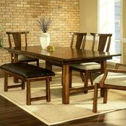 Somerton Dwelling Dakota Dining Table in Rich Brown