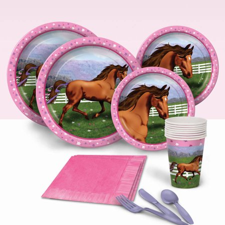 Hooray for Horses Party Pack for 8](Horse Theme Party Supplies)