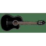 Dean Espana Full Size Classical CAW Acoustic/Electric Guitar - Classic Black