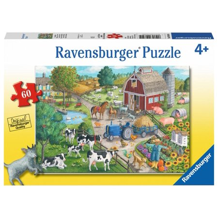 Home on the Range 60 pcs  - Jigsaw Puzzles by Ravensburger (09640)