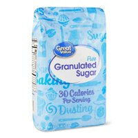 (2 pack) Great Value Pure Granulated Sugar, 10 lbs