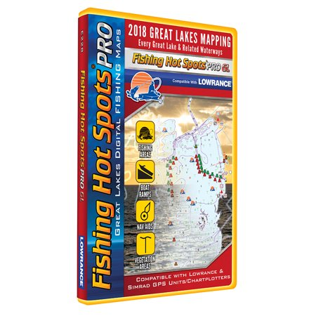 Fishing Hot Spots Pro Maps (FISHING HOT SPOTS PRO GL -  GREAT LAKES)