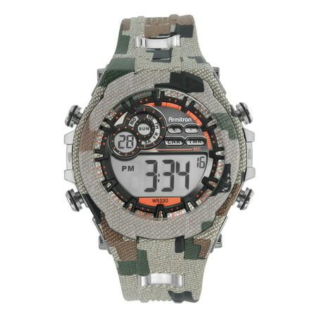 Armitron Men's Sport Military Round Watch