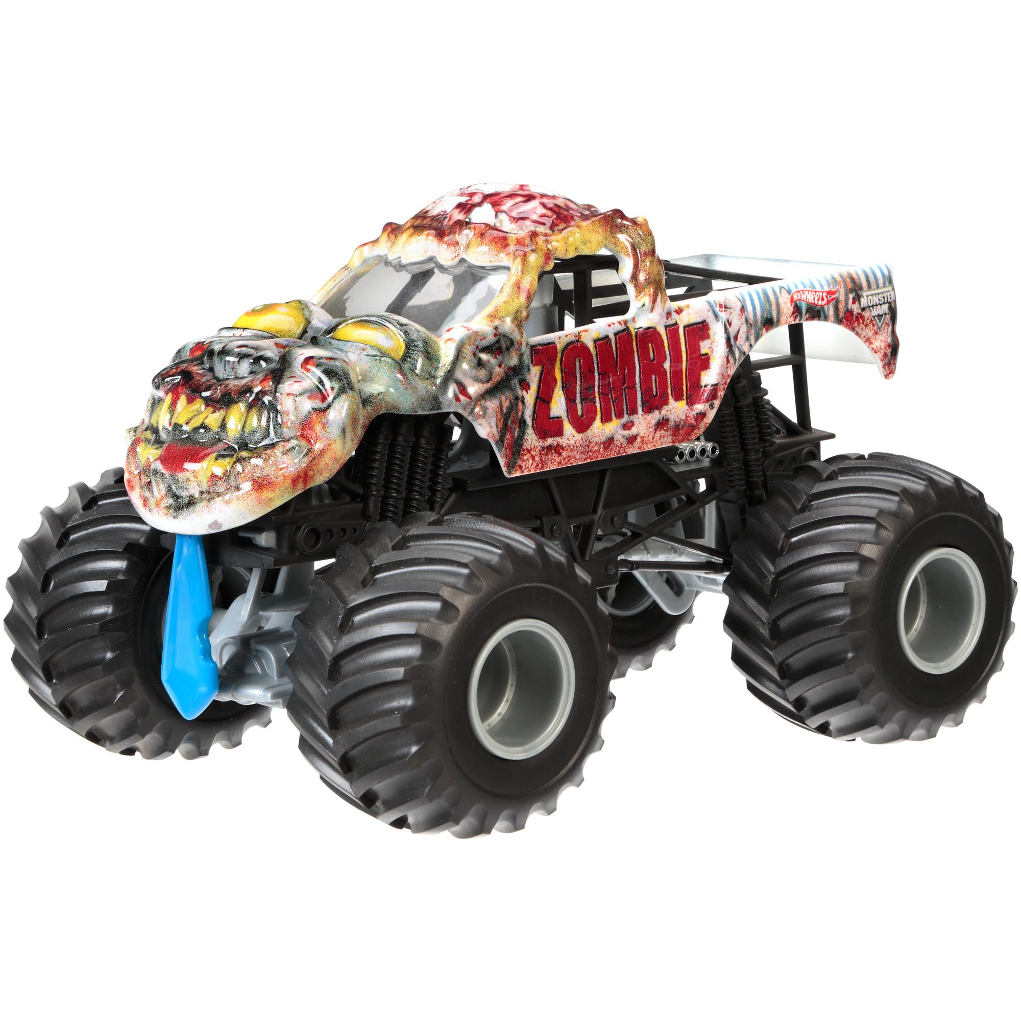 Hotwheels Hot Wheels Monster Jam 1 24 Assortment Walmart Com