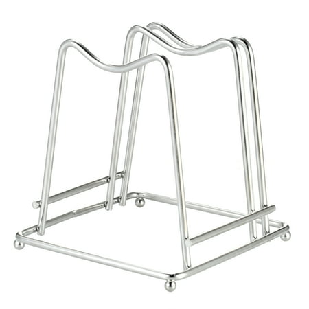 Stainless Steel Cutting Board Holder Chopping Board Stand Rack Kitchen Household Organizer ()