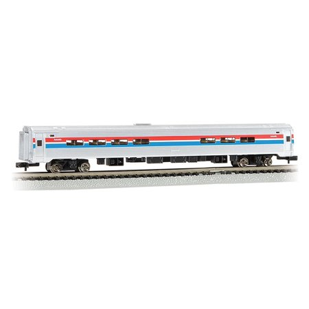 - Bachmann Industries Inc. Amtrak Budd Passenger Car 85' Amfleet I Phase II Amtrak Cafe (Lighted Interior) - N Scale, Rolling Stock for your N Scale.., By Bachmann Trains