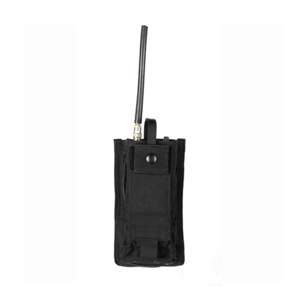 BLACKHAWK! 37CL20BK Radio Pouch w STRIKE Webbing Black by Supplier Generic