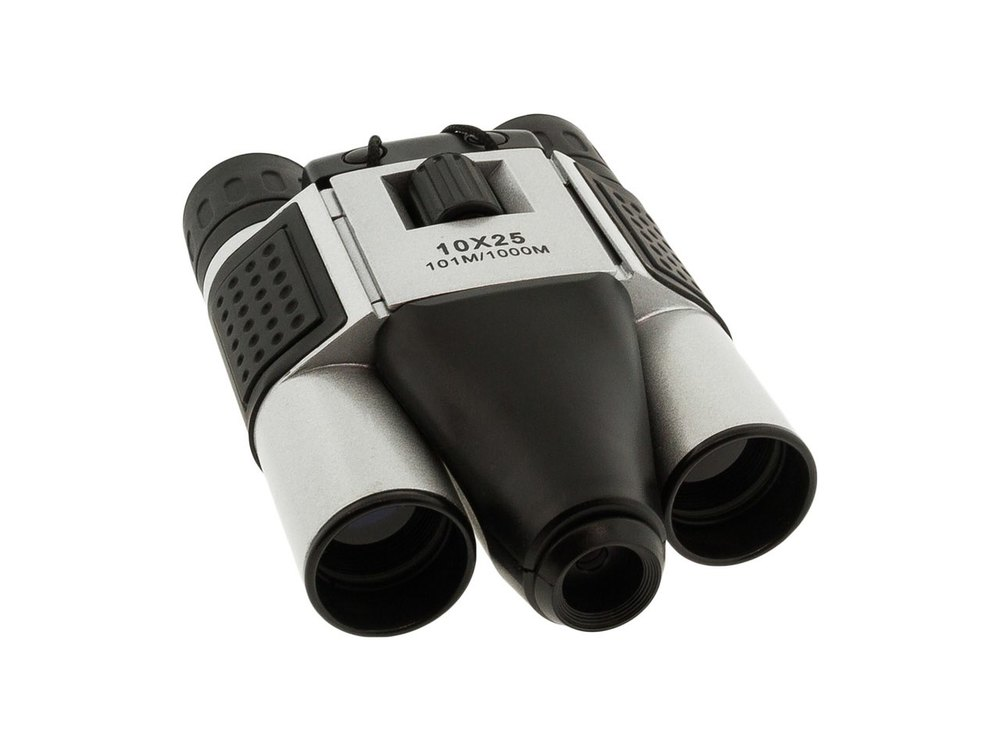 BrickHouse Security HD 10x25mm Digital Binocular with DVR Camera by