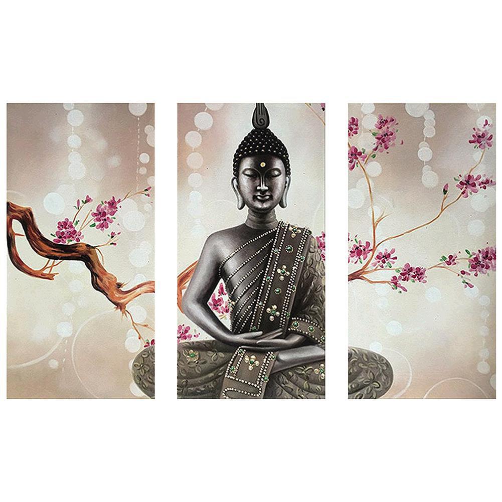 5D Diamond Painting Kits Full Drill Art Buddha Embroidery Decor DIY Picture DIY
