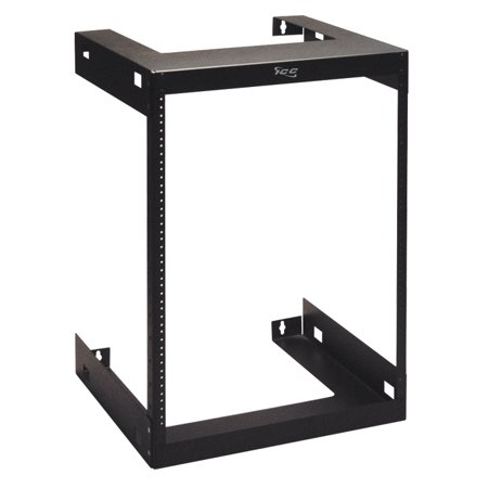 Computer Rack Mounting Equipment - ICC RACK- WALL MOUNT- 18in DEEP- 15 RMS