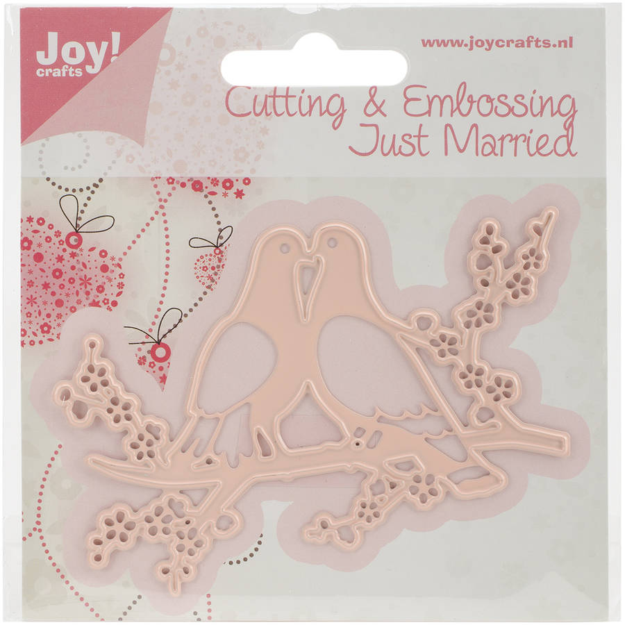 "Joy! Crafts Cut & Emboss Die, Doves, 3.5"" x 2.25"""