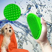 Peroptimist Pet Rubber Grooming Massage Hair Removal Bath Brush Glove Dog Cat Puppy Comb
