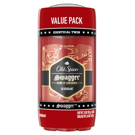 Old Spice Swagger Deodorant for Men Value Pack, 3oz (Pack of 2) (Sw-lager)
