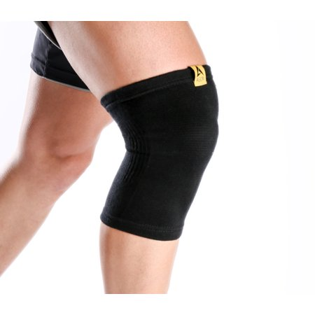 Knee Compression Sleeve By AGON® Knee Flexible Brace Support for Joint Pain, Arthritis Relief, Injury Recovery, Improve Circulation, Protect Patella, Best Sleeve Running, Walking for Men & Women