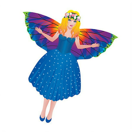WindNSun MiniKite Mini Mylar Kite - Ready to Fly - Fairy