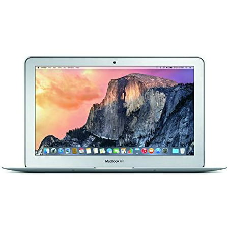 "Apple MacBook Air Laptop 11.6"", Intel Core-i5, Intel HD Graphics 6000, 128GB SSD Storage, 4GB RAM, MJVM2LL/A"