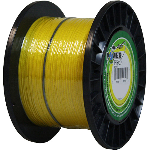 PowerPro Microline Fishing Line, Yellow, 1,500 yd