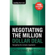 Negotiating the Million Dollar Deal