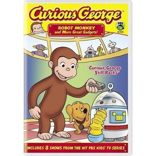 Curious George: Robot Monkey And More Great Gadgets (Full Frame)