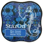 StazOn Midi Ink Pad-Blue Hawaii