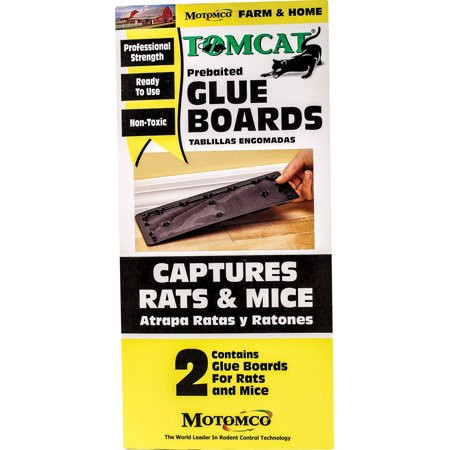 TOMCAT PREBAITED GLUE BOARDS RAT AND MOUSE TRAPS 12 CT.