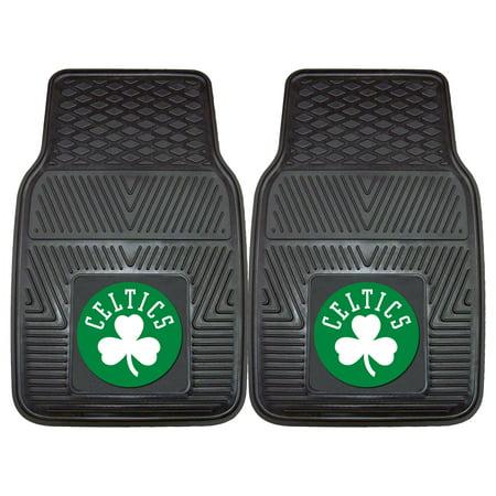 Boston Celtics 2-pc Vinyl Car Mats