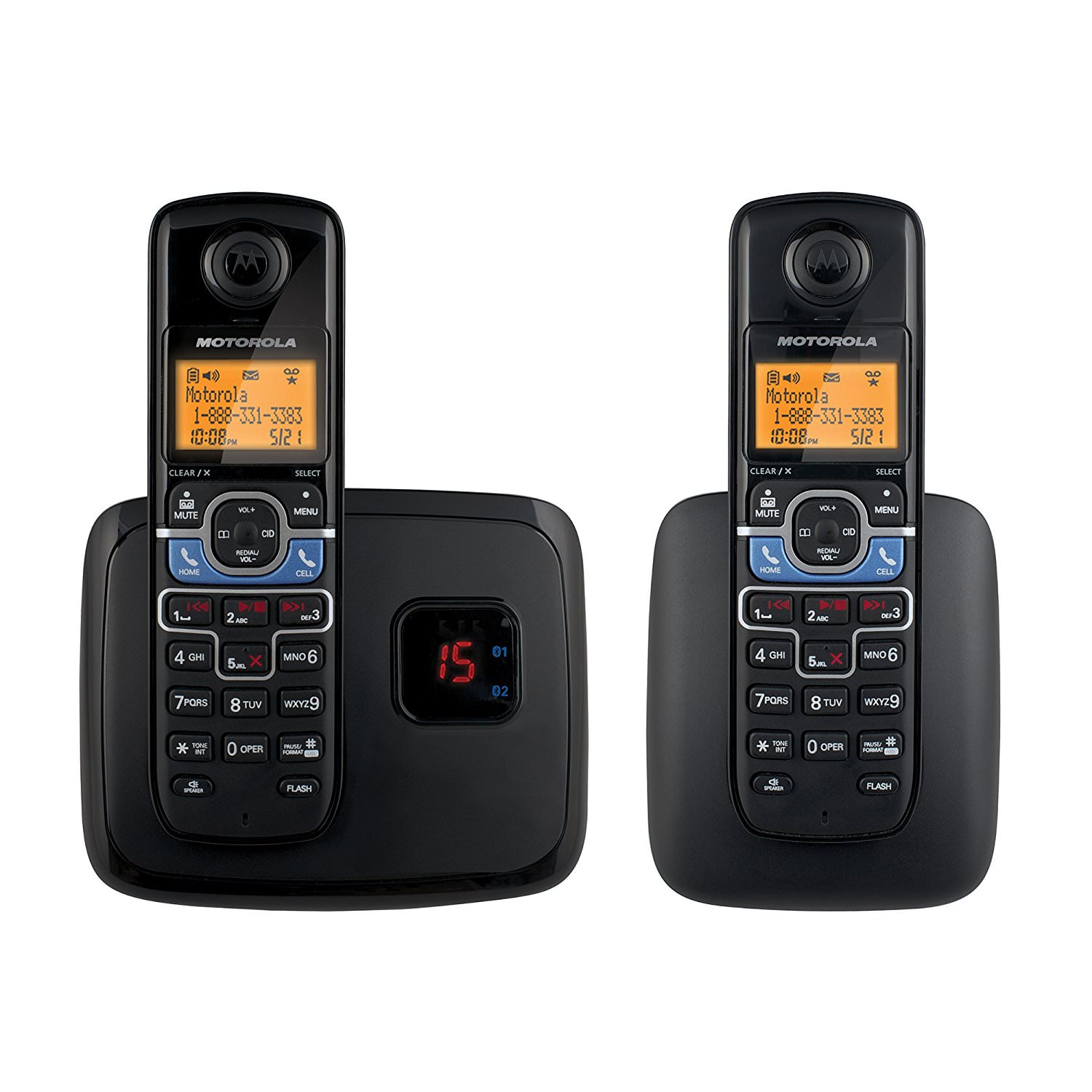 Motorola L702BT Cordless Phone with Mobile Bluetooth Linking