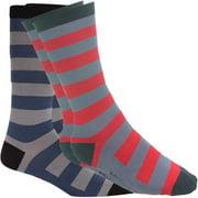 Golf Men's Striped Crew Sock (2-Pair)