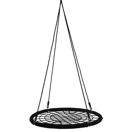 Dilwe Outdoor Hanging Relax Round Net Web Swing Hammock ...