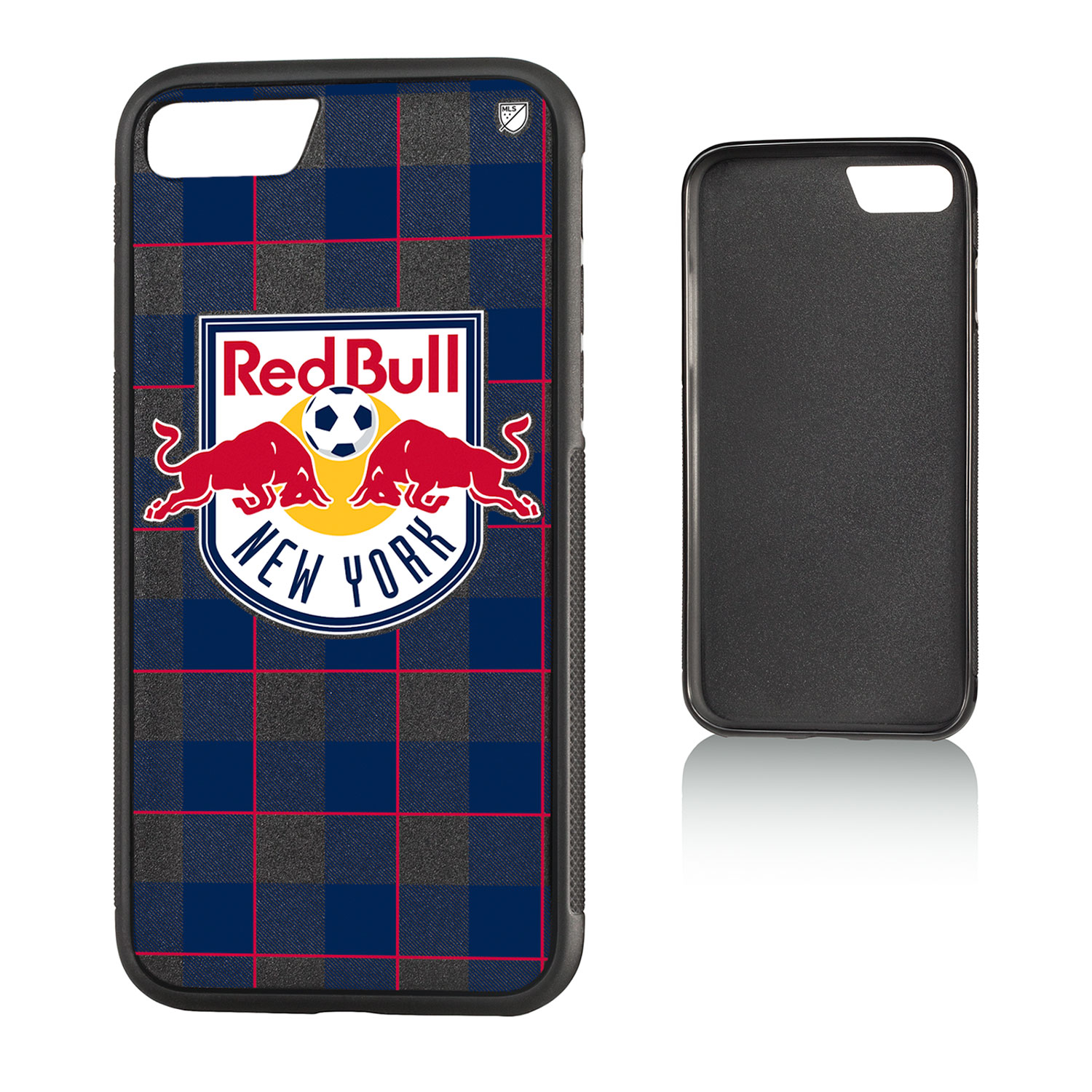 New York Red Bulls RED BULLS Plaid Bump Case for iPhone 8 / 7