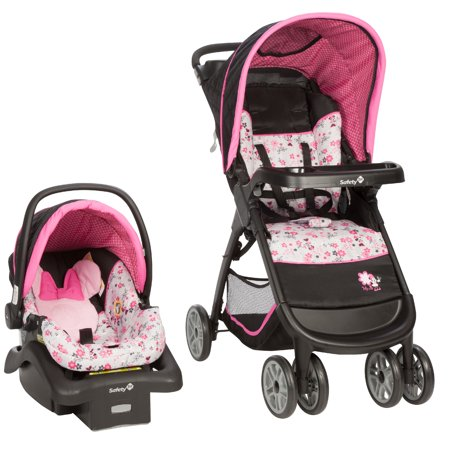 Disney Baby Amble Quad Travel System  Minnie Garden Delight