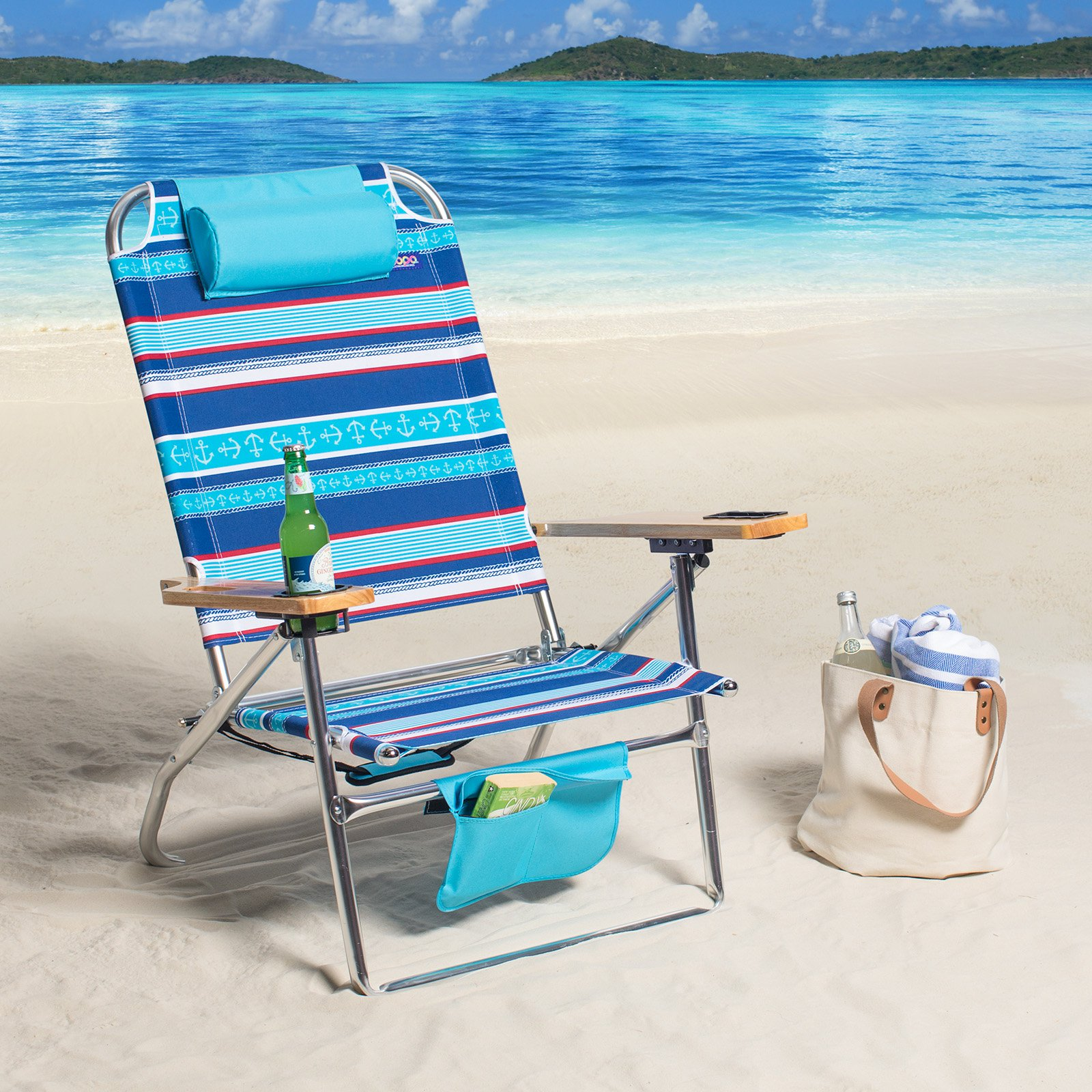 Copa 3 Position Deluxe Big Fish Hi-Boy Beach Chair
