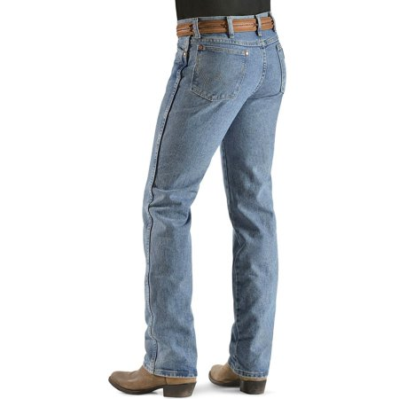 a01712fd Wrangler - Wrangler Men's Western Cowboy Cut Slim Fit Jean - Antique Wash -  Walmart.com