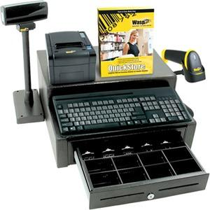 Wasp Quickstore Pos Solution Std   Software And Hardware