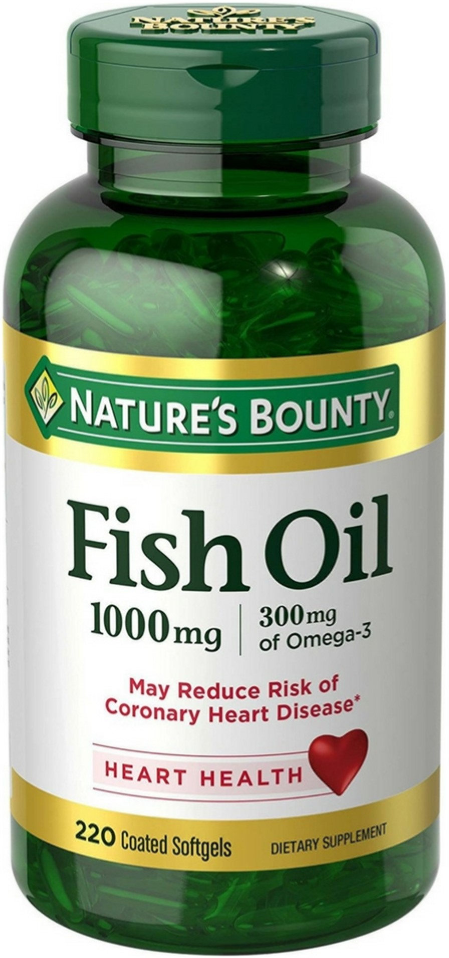 omega fish oil bounty nature mg 1000 walmart
