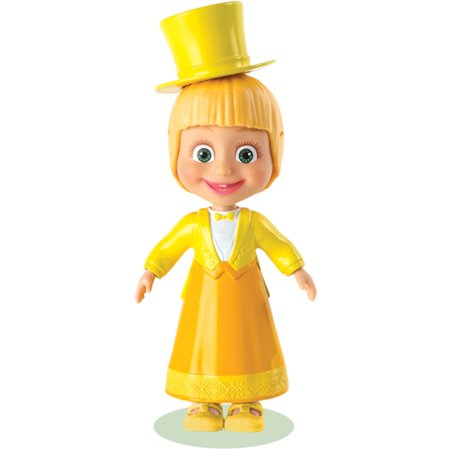 Masha and the Bear Snap 'N Fashion Dance Fever Masha Dress Up Doll (Masha And The Bear Halloween Costume)