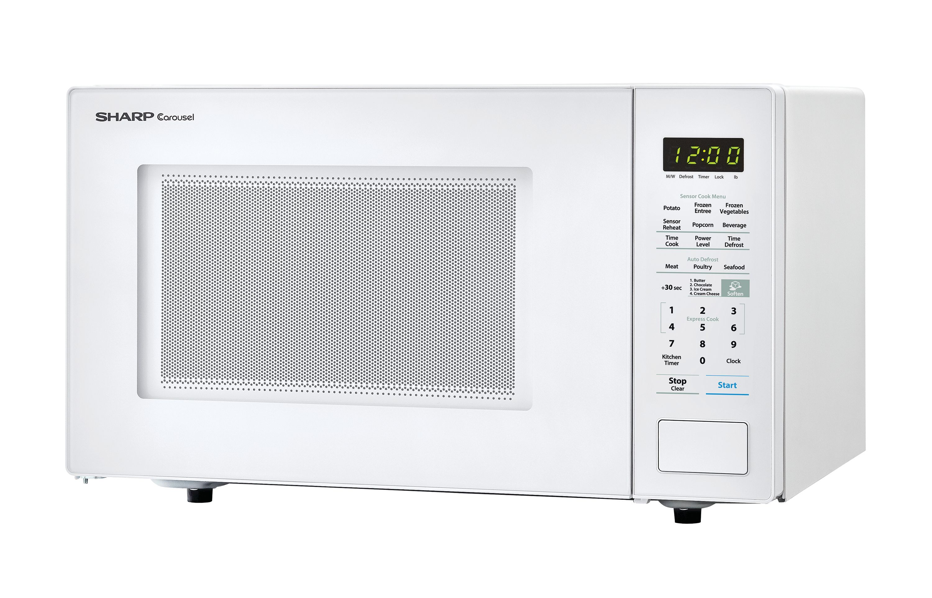 Sharp Zsmc1441cw 1 4 Cu Ft Microwave