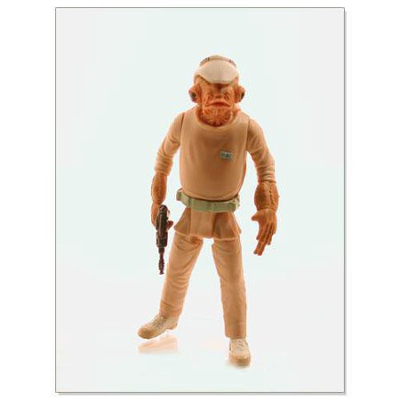 Star Wars: Power of the Jedi Mon Calamari Officer Action Figure, By Hasbro Ship from US