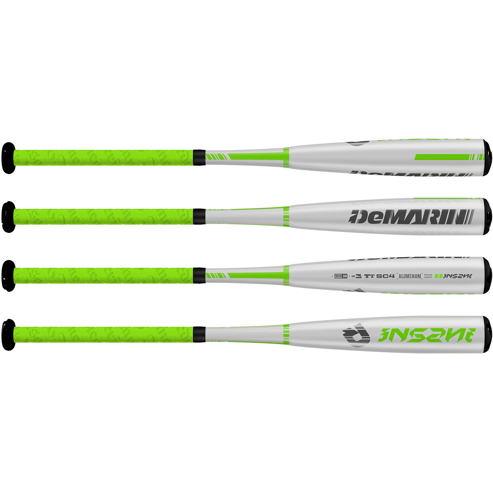 DeMarini Insane BBCOR -3 Adult Baseball Bat