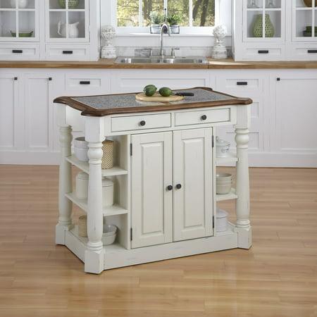 Home Styles Americana Granite Kitchen Island by