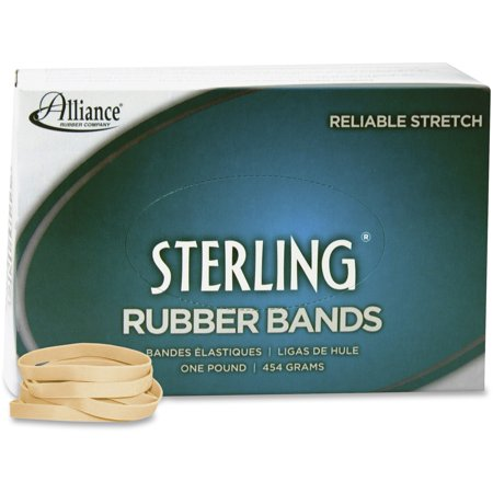 Alliance Sterling Rubber Bands   62  2 1 2 X 1 4 1 Lb  Box