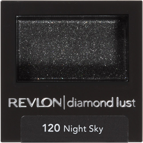 Revlon Luxurious Color Diamond Lust Eye Shadow, 120 Night Sky, 0.028 oz