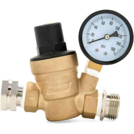 garden hose pressure regulator. Camco 40058 Adjustable Brass Water Pressure Regulator Garden Hose S