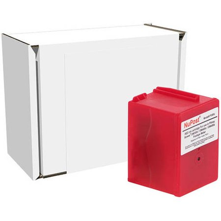 NuPost Non-OEM New Build Red Postage Meter Ink Cartridge (Alternative for Pitney Bowes 765-9) (8000 Yield)