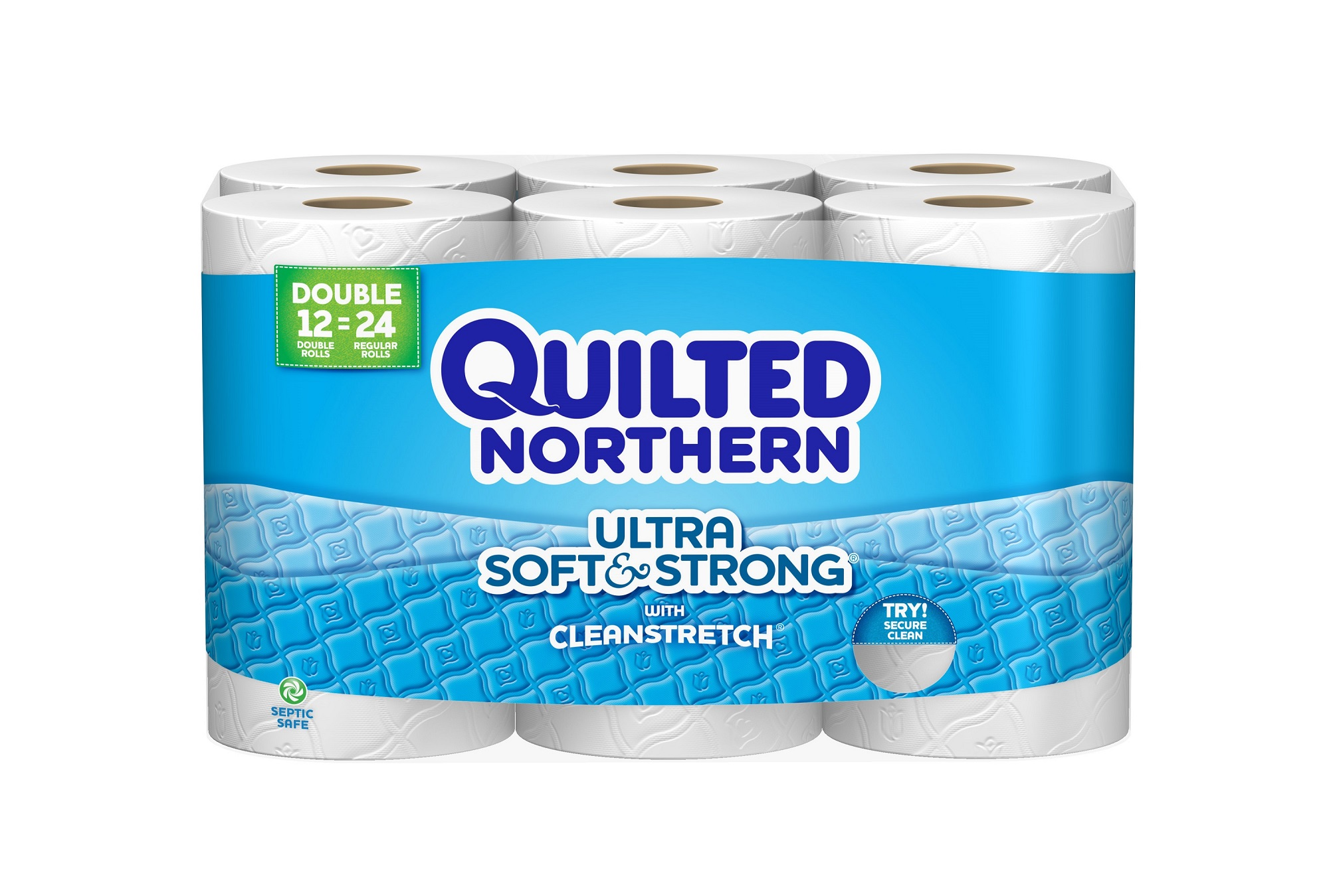 White cloud bathroom tissue - Quilted Northern Toilet Paper Ultra Soft Strong 12 Double Rolls