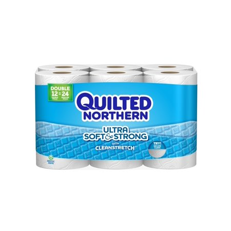 Quilted Northern Ultra Soft   Strong  12 Double Rolls Toilet Paper  Bath  Tissue. Quilted Northern Ultra Soft   Strong  12 Double Rolls Toilet Paper